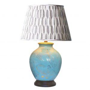 Bulbous Feather Lamp