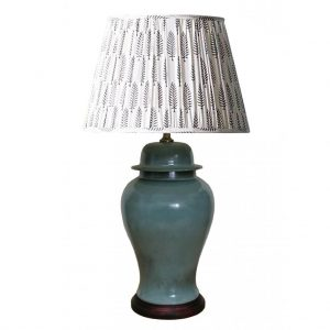 Celadon Jar Lamp