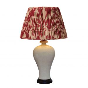 Crackle glazed Lamp