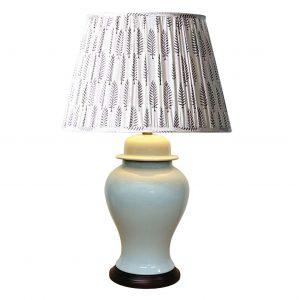 Crackled Ivory Lamp
