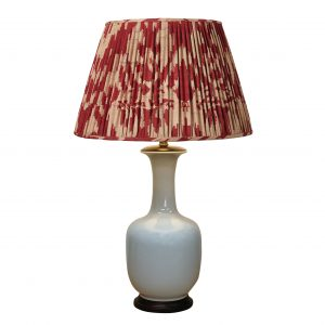 Ivory Bottle Vase Lamp